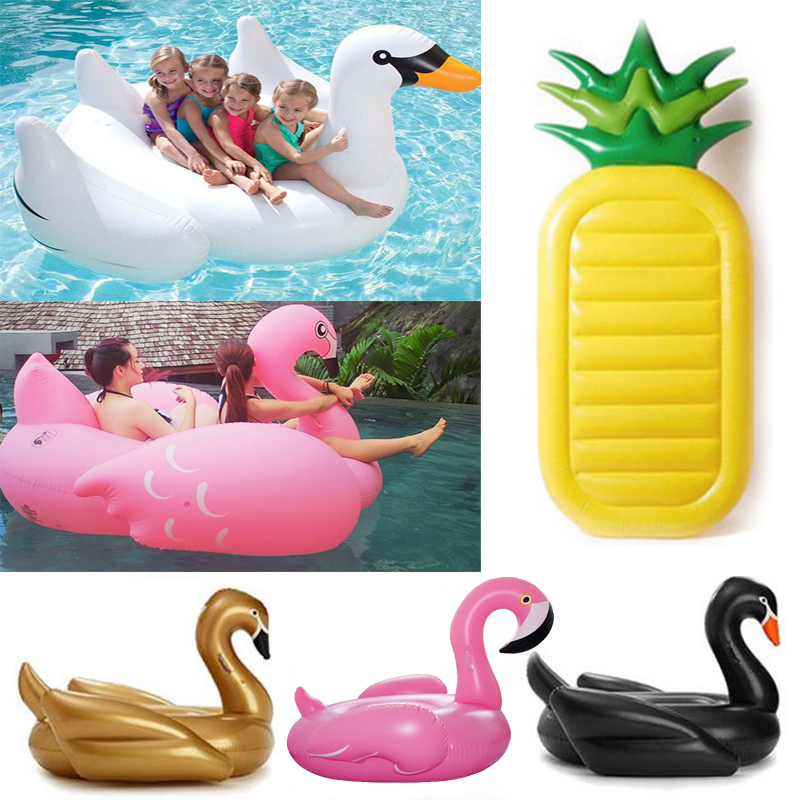 Hot Inflatable flamingo Giant Pool float swimming ring Inflatable Swan swimming pool for adults Water pool toys 190*165*115cm(China (Mainland))