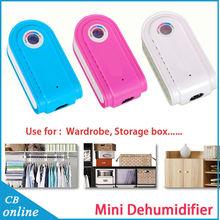 2015 New Portable Mini Dehumidifier 16W Air Dehumidifier Can be recycled Desumidificador de ar mini dehumidifiers for home