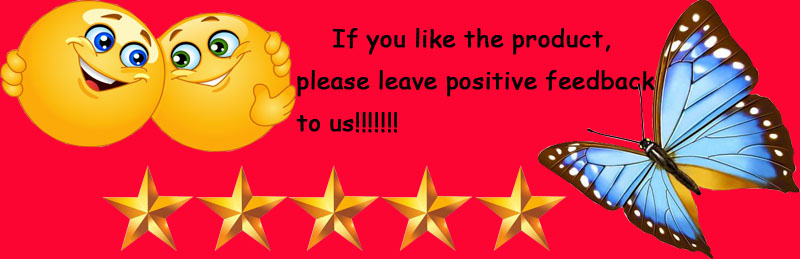 leave positive feedback