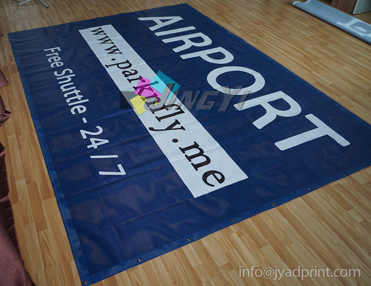 0.9X7.5M PVC Mesh Banners, Custom Outdoor Fence Mesh Banner Printing Services(China (Mainland))