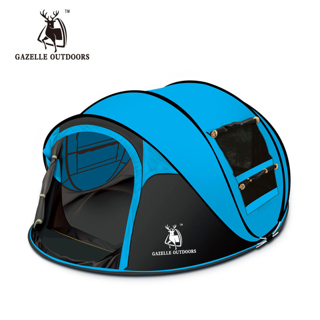 Camping Tent 3 Person Throwing Automatic Speed Open
