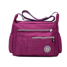 Women's Messenger Bags Ladies Nylon Handbag Travel Casual Bag Outdoor Shoulder Female High Quality Large Capacity Crossbody Bags