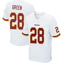 Men's #28 Darrell Green Elite White Jersey 100% Stitched(China (Mainland))