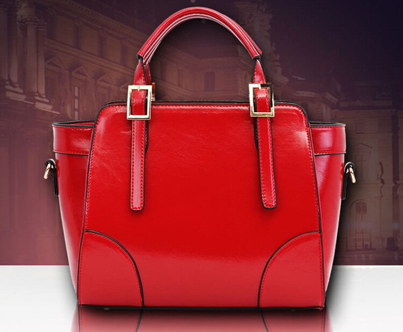2015 New Arrival Casual Tote Genuine Leather Bag Polyester Single Fashion  Woman Leather Handbag Women Messenger Bags<br><br>Aliexpress