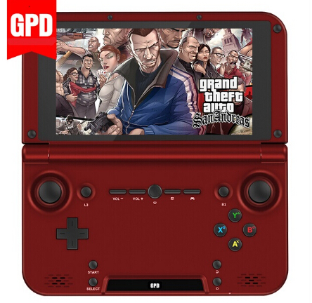 Advance Sale GPD XD RK3288 Quad Core 2G/64G Support 128GB TF-card 5' IPS Handheld Game Console Video Game Play PS vita Deep Red(China (Mainland))