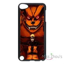 For iphone 4/4s 5/5s 5c SE 6/6s plus ipod touch 4/5/6 back skins mobile cellphone cases cover Naruto Kurama Kyubi