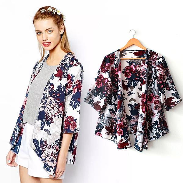Shop Boho Vintage Clothing Online Cheap Fashion Casual Shirt Shawl