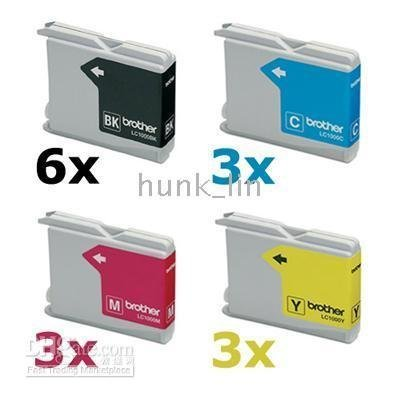 15 INK CARTRIDGE FOR LC960 LC1000 LC51 LC57 MFC-660CN/665CW/680CN/845CW FAX-1355/1360/1460/1560/2480