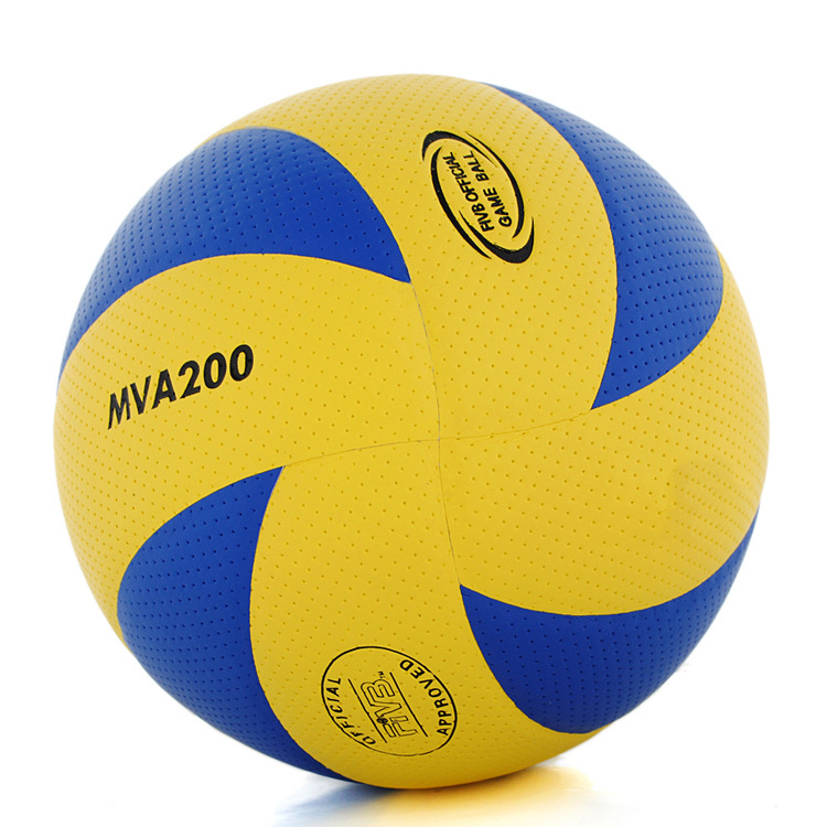 Hot Sale 5 PU Volleyball Official Match MVA200 Volleyballs Indoor Training Competition Volleyball balls(China (Mainland))
