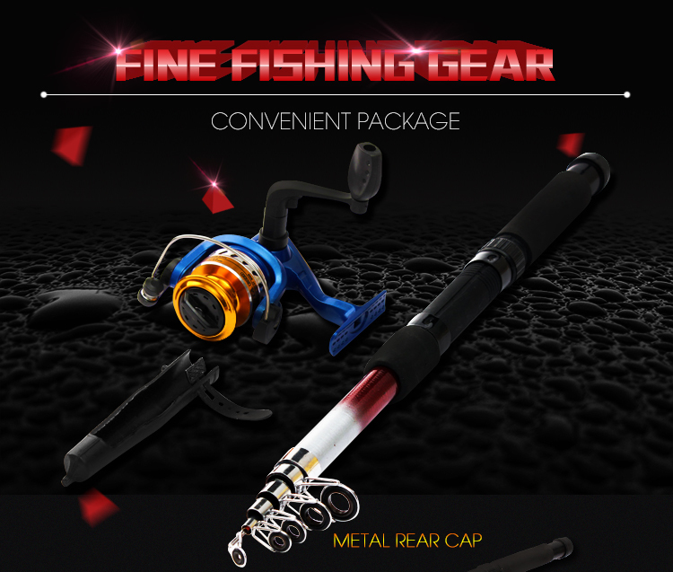 Hot selling Fishing Rod AND Reel Set Lure Fishing Reels spinning reel Fish Tackle Rods Carbon