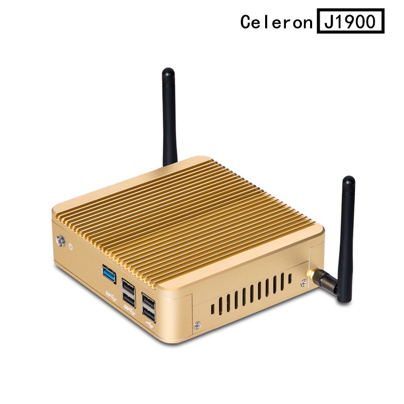 2015 New Fanless PC Mini PC Celeron Mini pc win8.1 X30-j1900 Celeron quad 2.41GHZ support linux / win 7 / win8 with Vesa Mount<br><br>Aliexpress
