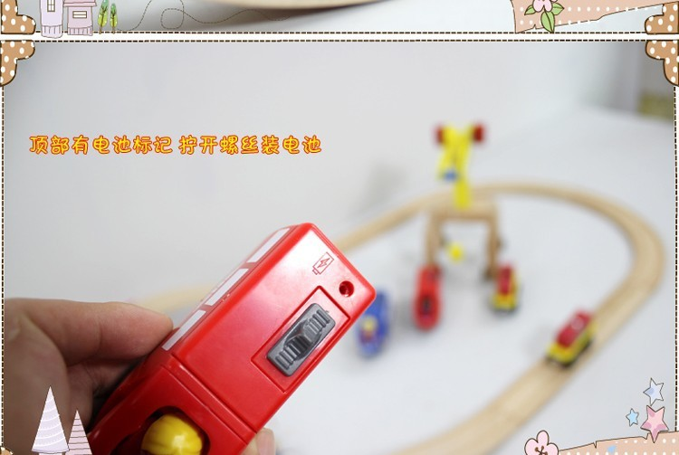 4 colors baby electric magnetic train toys /Kids Children Christmas gift /Child wooden slot train electronic vehicle toy, 11Cm