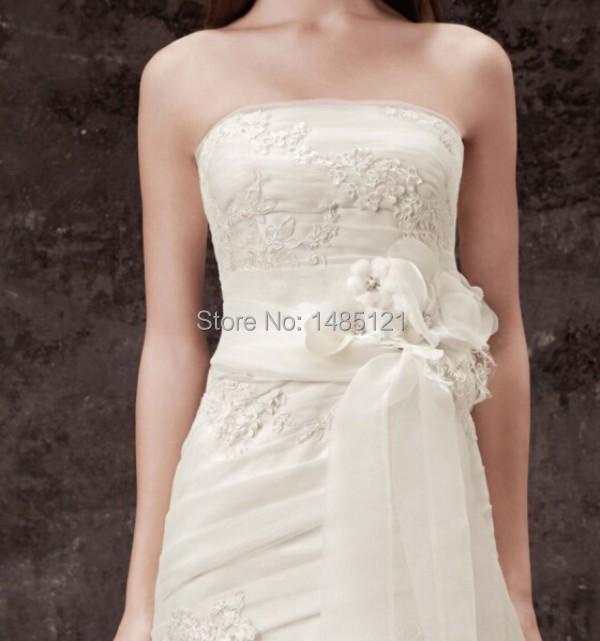 Bridal sash wedding sash belt handmade 2014 new charming for Wedding dress accessories belt
