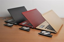 free DHL or EMS shipping to USA or UK address high quality golden color notebook  14inch(China (Mainland))