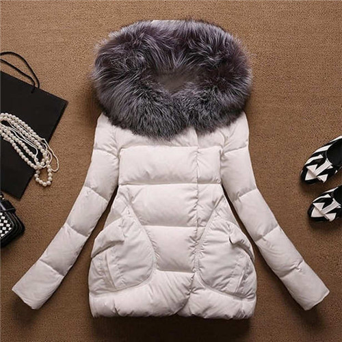 Women\`s Winter Jacket Women 2015Thick Warm Jackets And Coats A Word Parkas Fur Collar With Hood Coat Female Plus Size XXL 5Color (10)