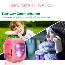 Green,Blue,Pink cute kids smart watchs support dial call / push message / anti lost etc gps smartwatch