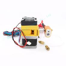 12v 0 4mm nozzle 100K Thermistor Extruder MK9 For 1 75mm Filamnet 3D Printer Free Shipping