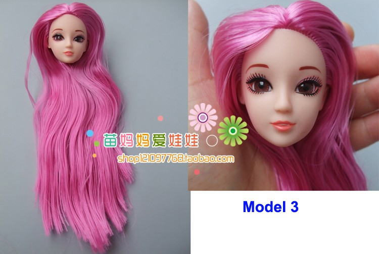 Joint doll body with head  toy accessories children baby girls gift doll accessories for barbie doll for baby toys
