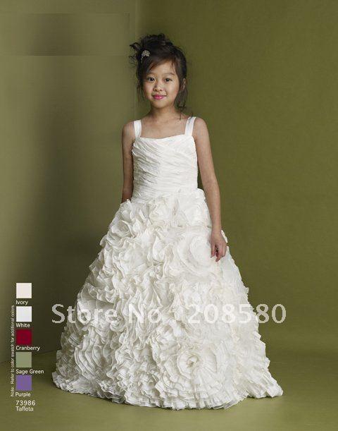 UNIQUE FLOWER GIRL DRESSES - Sanmaz Kones