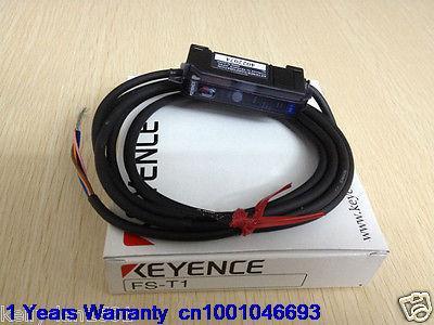 Фотография DHL/EUB 5pcs Original for KEYENCE FS-T1 Fiber Optic Sensor NEW IN BOX   15-18