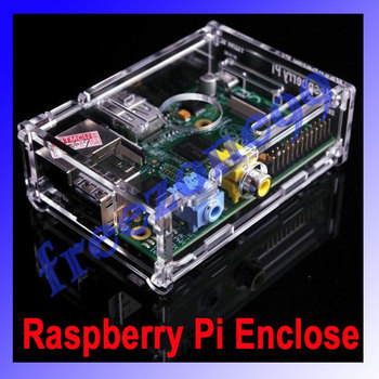 Transparent Acrylic Case  Box  Enclosure - for the Raspberry Pi 512M  Model B Computer FZ0379