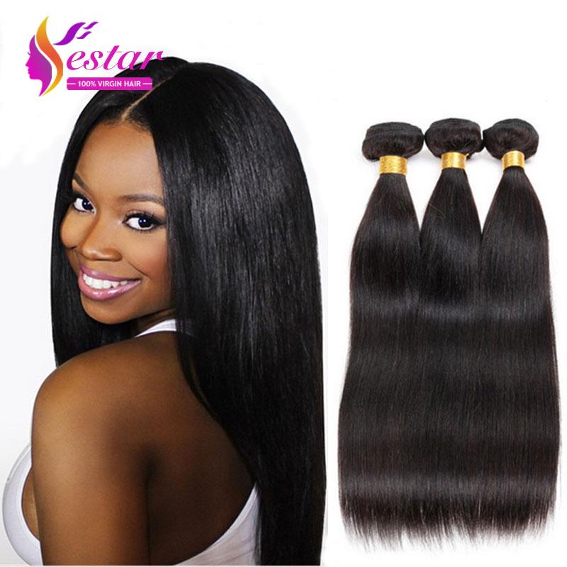 Brazilian Virgin Hair straight 3pcs/lot brazilian hair weave bundles Human Hair EXtension cheap brazilian hair free shipping