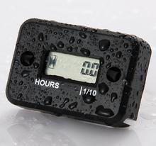 Waterproof Digital LCD Counter Hour Meter for Dirt Quad Bike ATV Motorcycle Snowmobile jet ski boat