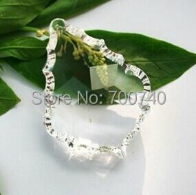 100% Quality Guaranteed + FREE RETURN---AAA Top Quality 50*35mm Crystal Baroque Leaf Pendants(192pcs/lot)<br><br>Aliexpress