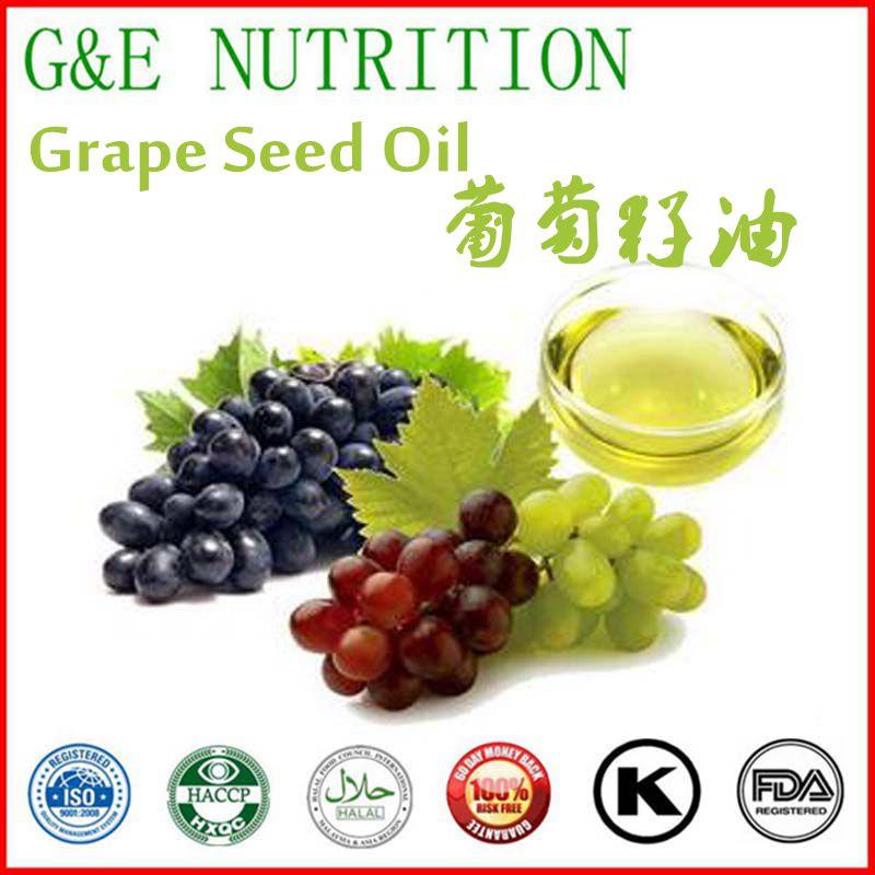 100% Natural Skin Care Organic Grape Seed Oil 900g