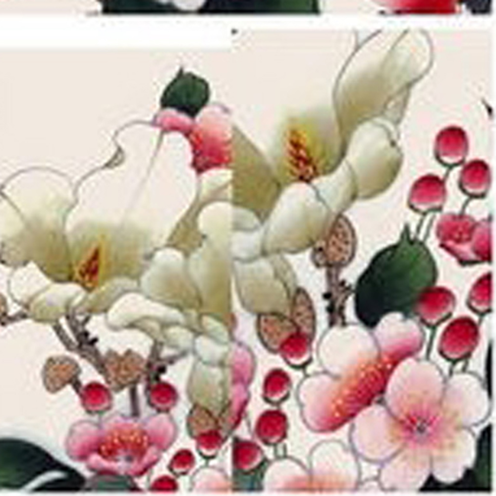 1 Sheet Nail Sticker Plum Flower Water Transfers Stickers Nail Decals Stickers Water Decal Opp Sleeve Packing Free Shipping(China (Mainland))