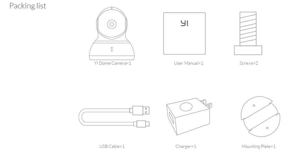 1080P Xiaomi YI Dome Home Camera (15)