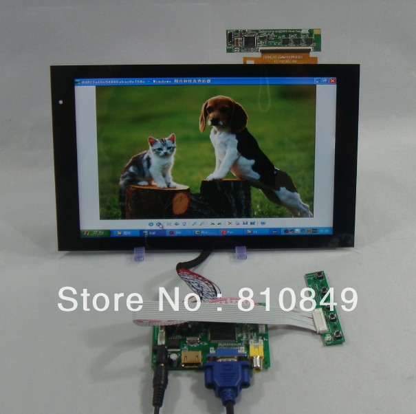 HDMI+VGA+2AV Control board+10.1inch 1280*800 B101EW05 V.1 for ACER A500 LCD(China (Mainland))