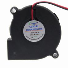 10pieces lot 5V 50mm 5015 50x50x15mm Blower Turbo Fan Cooling PLA RepRap 3D Printer