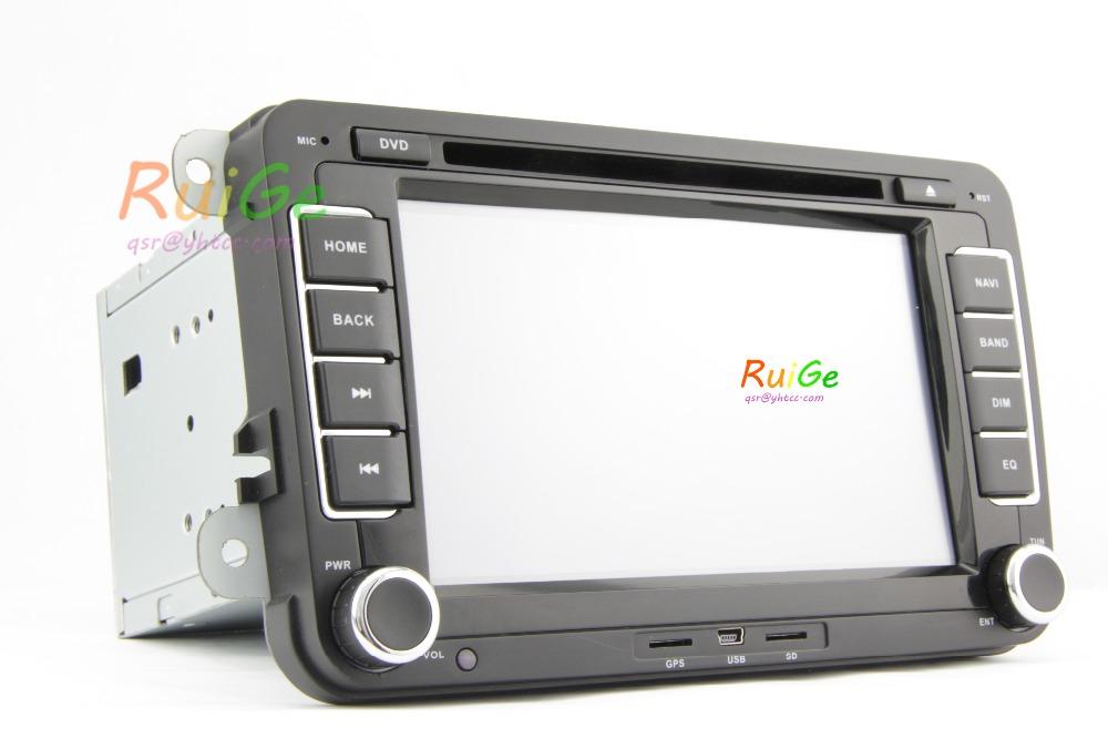 2 din Double Din Car PC DVD GPS For VW Golf 5 6 Polo Bora Jetta MK4 B6 Passat Tiguan Skoda Octavia Fabia car Russia PC()
