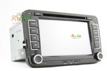 "WICNE 8.0 2 din 7 "" VW Car DVD player Volkswagen GOLF 5 Golf 6 POLO PASSAT SKODA CC JETTA TIGUAN TOURAN GPS()"