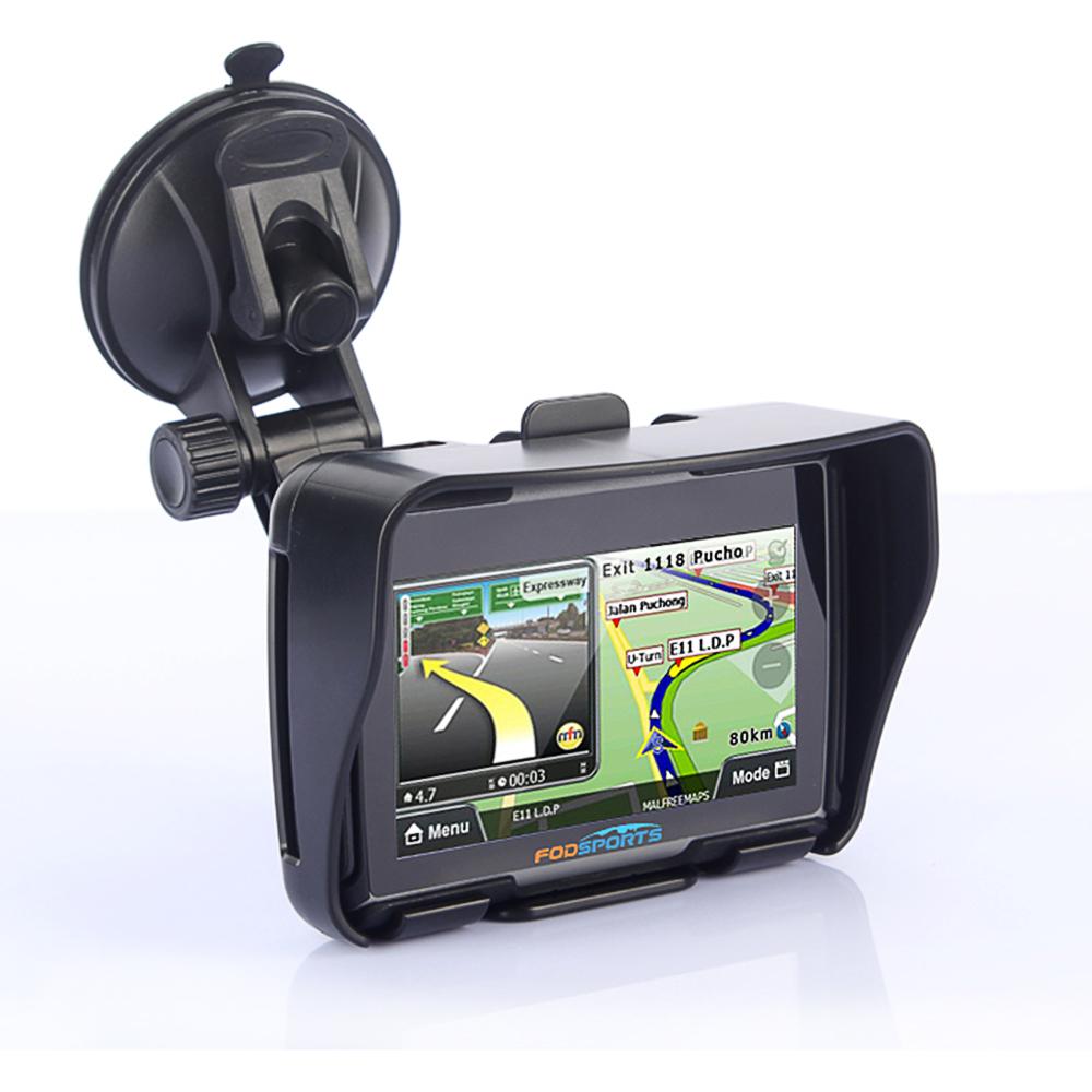 автомобильный навигатор для рыбаков