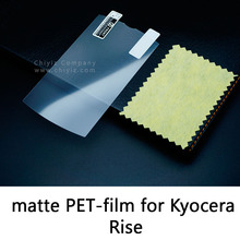 Glossy Clear Lucent Frosted Matte Anti glare Tempered Glass Protective Film On Screen Protector For Kyocera Rise C5155