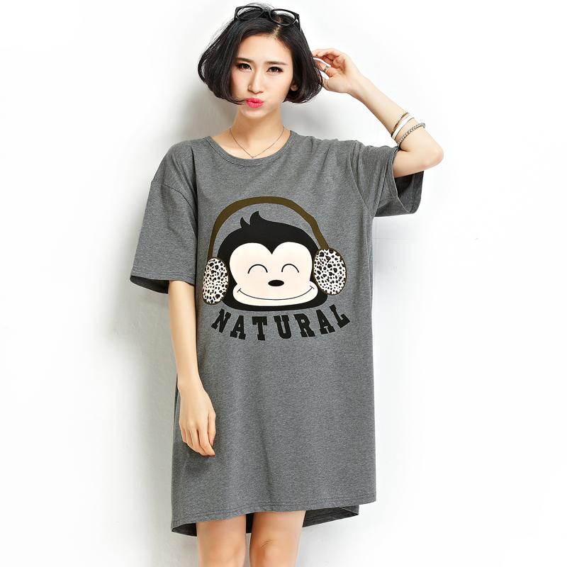 Women Cute Casual Loose Short Sleeve Tops T Shirt Blusas