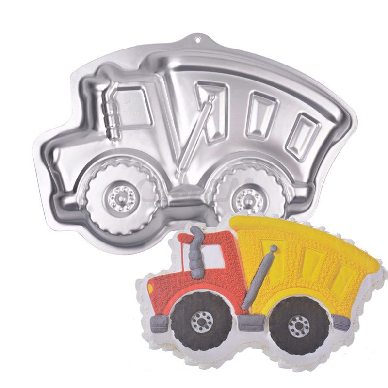 34x24x4.8cm Baking Tools For Cakes Aluminum Alloy Truck Cake Baking Pan for Kids / Children Lovely Car Cake Molds HB021Y_8405(China (Mainland))