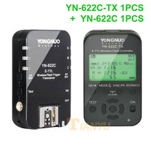 Buy Yongnuo YN-622C + YN-622C-TX KIT Wireless TTL HSS Flash Trigger Canon 1200D 1100D 1000D 800D 750D 650D 600D 550D 500D 5D II for $71.00 in AliExpress store