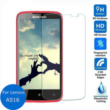 Buy Tempered Glass Lenovo A516 4.5inch Screen Protector 2.5D 0.26mm Explosion-proof Front Guard Film Cleaning Tool for $1.38 in AliExpress store