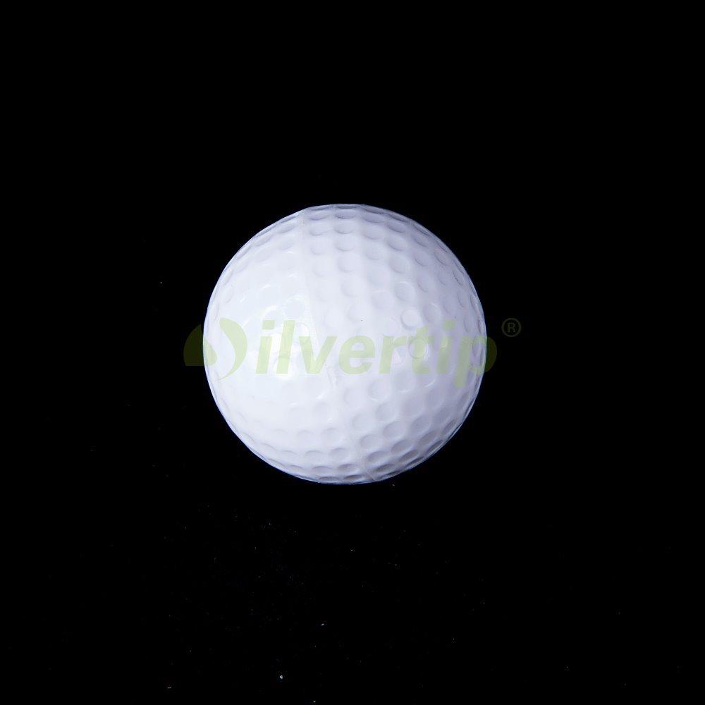 Free Shipping 2pcs Pack Golf Flash Ball Novelty Winter Assorted Light Night Fun Trackable(China (Mainland))