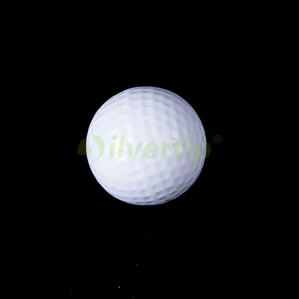 Free Shipping 2pcs Pack Golf Flash Ball Novelty Winter Assorted Light Night Fun Trackable(China (Mainland))