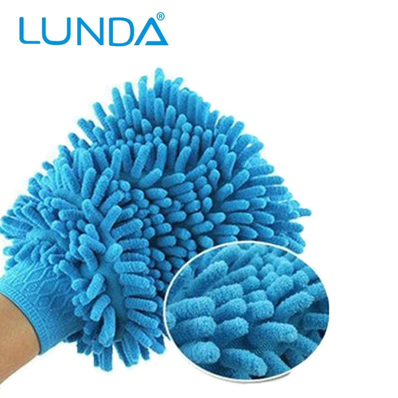 Super Mitt Microfiber Car Wash Washing Cleaning Gloves Car Washer Wholesale 1ODM Lunda(Hong Kong)