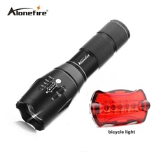 G700 Tactical Military LED Flashlight 2000 lumen XML t6 E17 5modes zoomable flashlight torches by 18650 or AAA+bicycle light(China (Mainland))