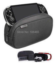 New black Large Capacity Soft Travel Protective Case Pouch Bag for Playstation PS VITA 1000 2000