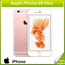 Original Apple iPhone 6S Plus Model A1687 iOS 9 A9 Dual Core 5.5 inch Capacitive Screen Phone 12MP Camera 16GB/64GB/128GB LTE(China (Mainland))