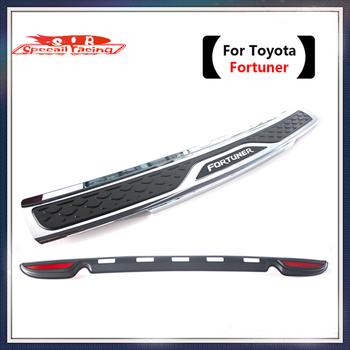 Special Racing - High Quality Plastic Rear bumper Protector Sill For Toyota Fortuner 2012,13,14,15