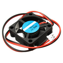 DC 12V 3D printer Mini Cooling Fan 30mm x 30mm x 10mm Small Exhaust Fan for RAMPS 3D Printer Accessories Electronics / Extruder