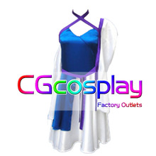 Free Shipping Cosplay Costume Gundam Stellar Dress New in Stock Retail / Wholesale Halloween Christmas Party Uniform